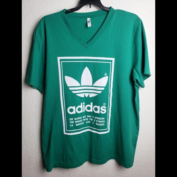 Adidas Green T-shirts